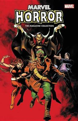 Marvel Horror: The Magazine Collection (Paperback)
