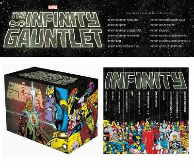Infinity Gauntlet Box Set Slipcase (Hardback)