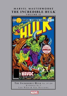Marvel Masterworks: The Incredible Hulk Vol. 12 (Hardback)