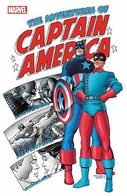 Captain America: The Adventures Of Captain America (Paperback)