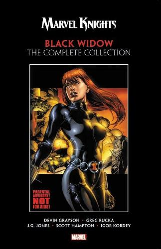 Marvel Knights: Black Widow By Grayson & Rucka - The Complete Collection (Paperback)