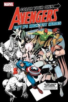 Color Your Own Avengers 2 (Paperback)