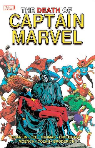 The Death Of Captain Marvel (Paperback)