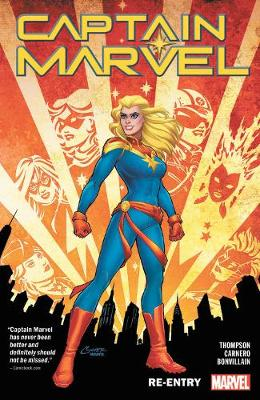 Captain Marvel Vol. 1: Re-entry (Paperback)
