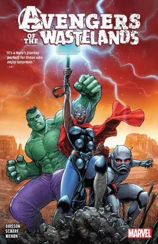Avengers Of The Wastelands (Paperback)