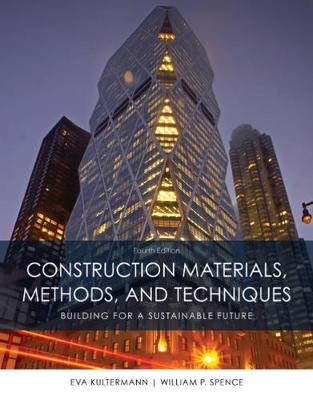 Construction Materials, Methods and Techniques (Hardback)