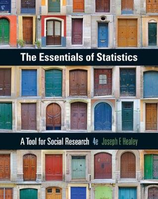 The Essentials of Statistics: A Tool for Social Research (Paperback)