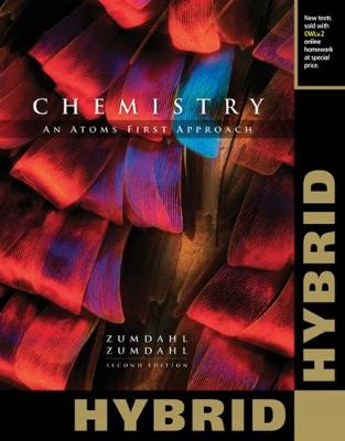 Chemistry: An Atoms First Approach, Hybrid Edition (with OWLv2 24 months Printed Access Card)
