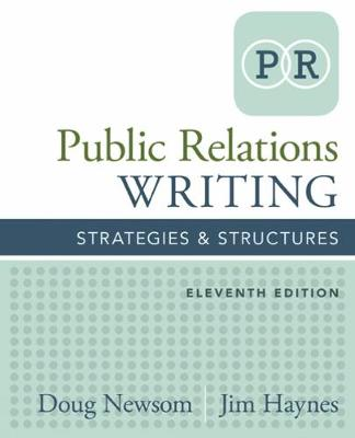 Public Relations Writing: Strategies & Structures (Paperback)