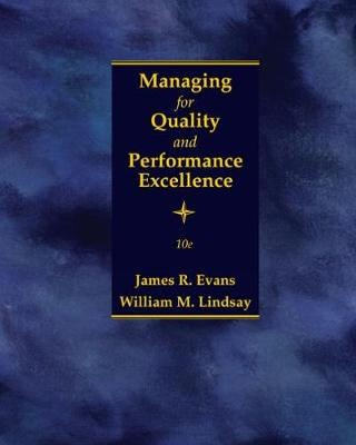 Managing for Quality and Performance Excellence (Hardback)
