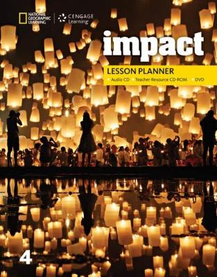 Impact 4: Lesson Planner with MP4 Audio CD, Teacher Resource CD-ROM, and DVD