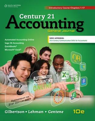 Century 21 Accounting: General Journal, Introductory Course, Chapters 1-17, Copyright Update (Hardback)