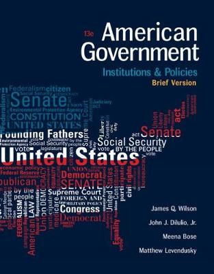 American Government: Institutions and Policies, Brief Version (Paperback)