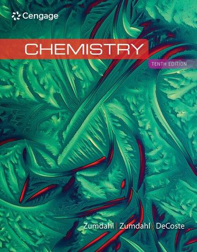 Inquiry-Based Learning Guide for Zumdahl/Zumdahl/Decoste's Chemistry, 10th Edition (Spiral bound)