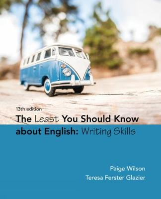 The Least You Should Know About English: Writing Skills (Paperback)