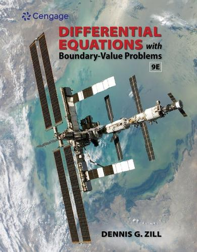 Student Solutions Manual for Zill's Differential Equations with Boundary-Value Problems, 9th (Paperback)