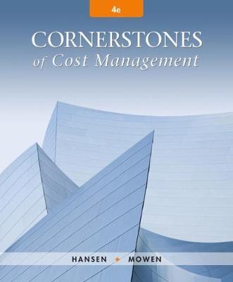 Cornerstones of Cost Management (Hardback)