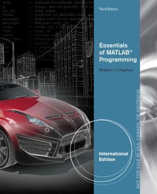 Essentials of MATLAB (R) Programming, International Edition (Paperback)