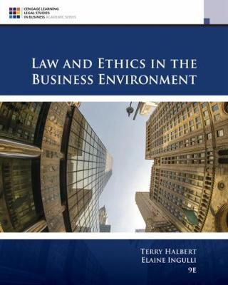 Law and Ethics in the Business Environment (Hardback)