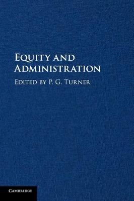 Equity and Administration (Paperback)