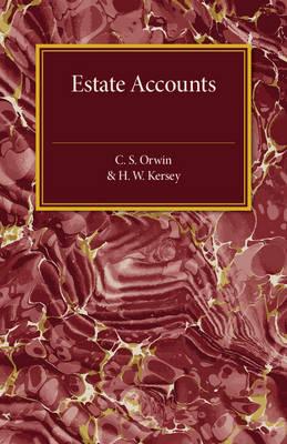 Estate Accounts (Paperback)