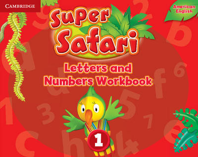Super Safari American English Level 1 Letters and Numbers Workbook (Paperback)