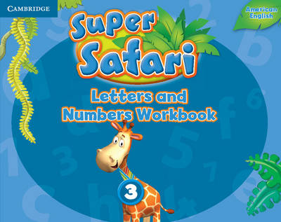 Super Safari American English Level 3 Letters and Numbers Workbook (Paperback)