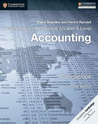 Cambridge International AS and A Level Accounting Coursebook (Paperback)