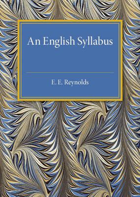 An English Syllabus (Paperback)