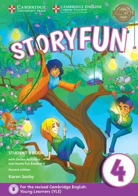 Storyfun for Movers Level 4 Student's Book with Online Activities and Home Fun Booklet 4