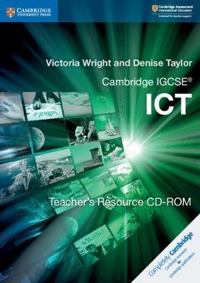 Cambridge IGCSE (R) ICT Teacher's Resource CD-ROM - Cambridge International IGCSE (CD-ROM)