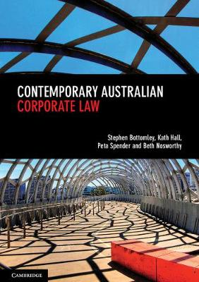 Contemporary Australian Corporate Law (Paperback)