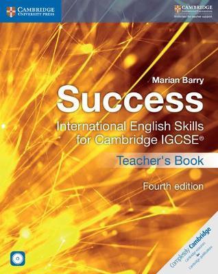 Success International English Skills for Cambridge IGCSE (R) Teacher's Book with Audio CDs (2) - Cambridge International IGCSE
