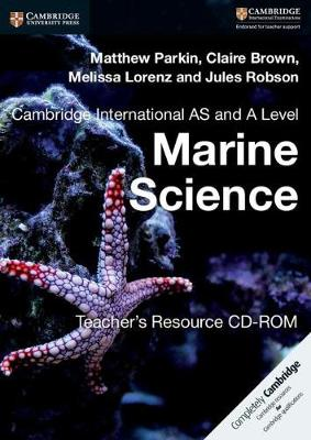 Cambridge International AS and A Level Marine Science Teacher's Resource CD-ROM (CD-ROM)