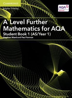 AS/A Level Further Mathematics AQA: A Level Further Mathematics for AQA Student Book 1 (AS/Year 1) (Paperback)