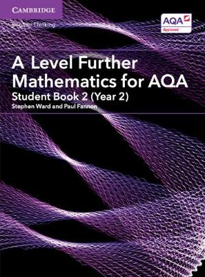 AS/A Level Further Mathematics AQA: A Level Further Mathematics for AQA Student Book 2 (Year 2) (Paperback)