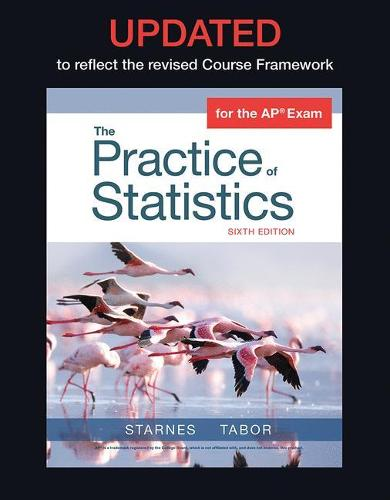 Updated Version of The Practice of Statistics for the APA Course (Hardback)