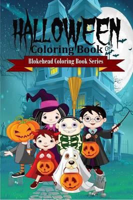 Halloween Coloring Book (Paperback)