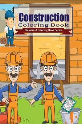 Construction Coloring Book (Paperback)