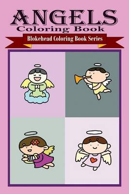 Angels Coloring Book (Paperback)