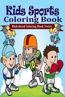 Kids Sports Coloring Book (Paperback)