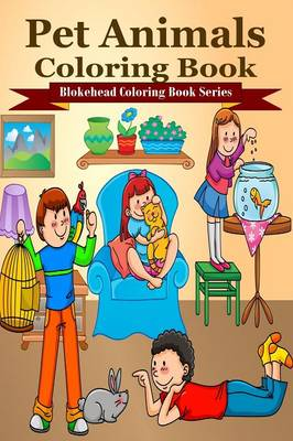 Pet Animals Coloring Book (Paperback)
