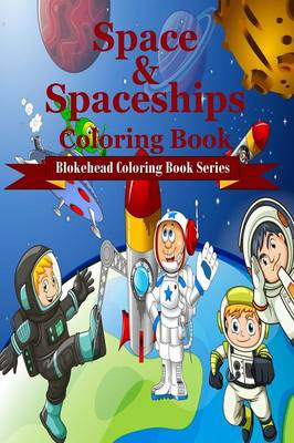 Space and Spaceships Coloring Book (Paperback)