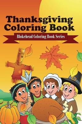 Thanksgiving Coloring Book (Paperback)