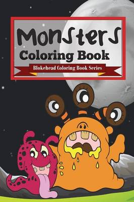 Monsters Coloring Book (Paperback)