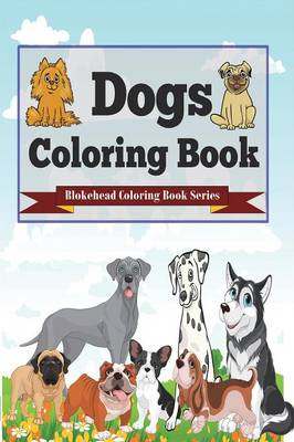 Dogs Coloring Book (Paperback)