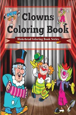 Clowns Coloring Book (Paperback)