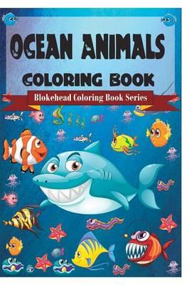 Ocean Animals Coloring Book (Paperback)