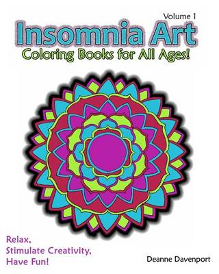 Insomnia Art Coloring Book (Paperback)