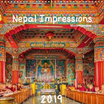 Nepal Impressions 2019: Colours of Nepal - Calvendo Places (Calendar)